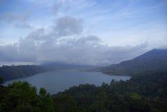 Bali island lake Royalty Free Stock Photos