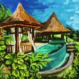 Bali Island Stock Photo