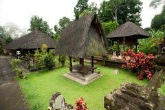 BALI - 2. JANUAR:  Pura Luhur Batukaru-Tempel am 2. Januar, 201 Stockbild