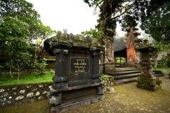BALI - 2. JANUAR:  Pura Luhur Batukaru-Tempel am 2. Januar, 201 Lizenzfreies Stockbild