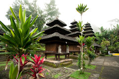 BALI - JANUARY 2:  Pura Luhur Batukaru temple on  JANUARY 2, 201 Royalty Free Stock Photo