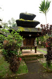 BALI - JANUARY 2:  Pura Luhur Batukaru temple on  JANUARY 2, 201 Royalty Free Stock Photo
