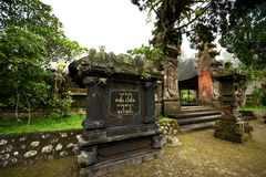 BALI - JANUARY 2:  Pura Luhur Batukaru temple on  JANUARY 2, 201 Royalty Free Stock Image