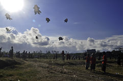 Bali Kite Festival Royalty Free Stock Photography