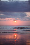 Bali Kuta Beach sunset Royalty Free Stock Image