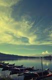bali lake Arkivfoton