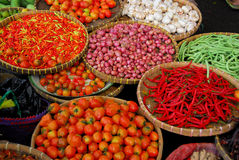 Bali Market. Assortment of food found at a street market in Bali
