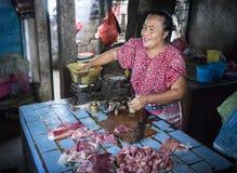 Bali marknad Arkivfoto
