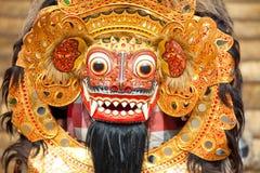 Bali maska podczas klasycznego krajowego balijczyka Obraz Stock