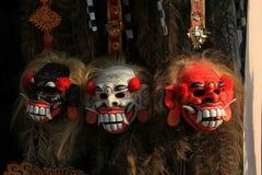 Bali maskering Arkivbild