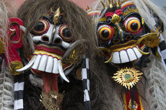 Bali masks Stock Photos