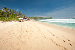 BALI- MAY 8:  Balangan Beach is one of the surfing beaches on th Stock Images