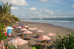 BALI- MAY 9: Located on the western side of the island's narrow Royalty Free Stock Photography