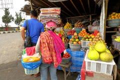 Bali: Mercato di frutta asiatico Fotografie Stock