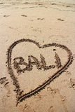 Bali miłość Fotografia Royalty Free