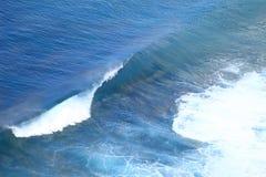Bali Ocean Waves. Azure Ocean Waves and surf Bali Indonesia royalty free stock image