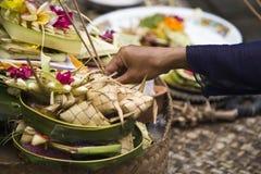 Bali offering Stock Photo