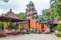 Bali pałac drzwi Zdjęcie Royalty Free