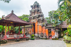 Bali Palace Door Royalty Free Stock Photo