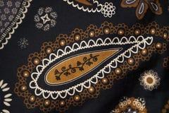 Bali pattern blanket. Pattern background awesome blanket blue Royalty Free Stock Image