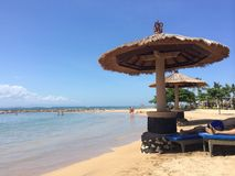 Bali plaża Obraz Royalty Free