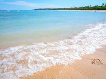 Bali plaży fala Fotografia Stock