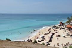 Dreamland beach on Bali royalty free stock photo