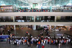 Bali przyjazdów lotniskowa sala Obraz Stock