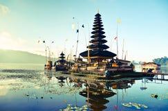 Bali Pura Ulun Danu Bratan Stock Images