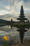 Bali Pura Ulun Danu Bratan Water Temple Royalty Free Stock Image