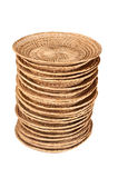 Bali Rattan Plate. Stock Photography