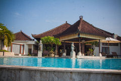 Bali resort hotel Royalty Free Stock Photos