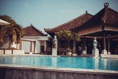 Bali resort hotel Royalty Free Stock Photo