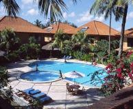 Bali Resort Indonesia. Luxury holiday accomodation, Bali, Indonesia stock photo