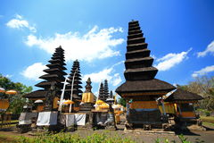 Bali roof  style, Besakih, Mengwi Indonesia Stock Image