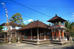 Bali roof  style building Indonesia Stock Photography