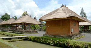 Bali Roof Style Buildings Stock Images