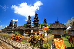 Bali roof  style, Mengwi Indonesia Royalty Free Stock Photo