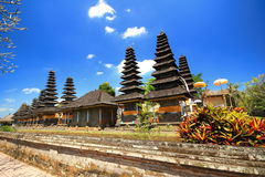Bali roof  style, Mengwi Indonesia Royalty Free Stock Images