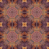 Bali Rose Batik Repeating  Seamless Background Pattern Royalty Free Stock Photo