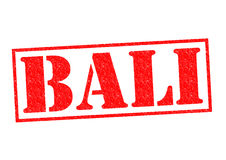 BALI Rubber Stamp Stock Image