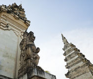 Bali's architecture. Monument of Bali's Holy God royalty free stock photography