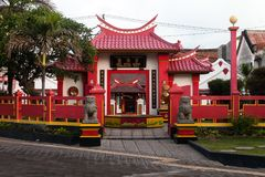 Bali`s most enchanting Chinese temple Stock Photos