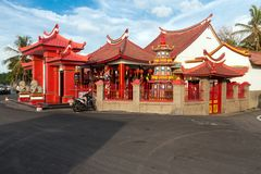 Bali`s most enchanting Chinese temple Stock Images