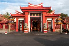 Bali`s most enchanting Chinese temple Stock Photo