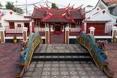 Bali`s most enchanting Chinese temple Royalty Free Stock Photos