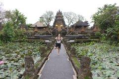 Bali Saraswati świątynia w Ubud, Bali fotografia royalty free
