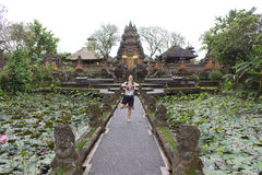 Bali Saraswati Temple in Ubud, Bali Royalty Free Stock Photography