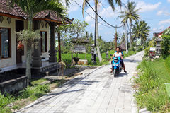Bali Scene Royalty Free Stock Photo