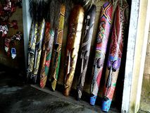Bali-Schablone Stockbild
